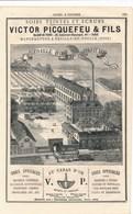 Fabrique De Soies à Coudre Victor Picquefeu à Neuilly En Thelle Vaquez Fessart Pour Machines à Coudre Amédée Charpentier - France