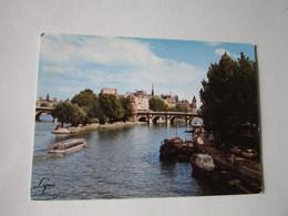 Paris; La Seine; La Pointe Du Vert Galanty Et Le Pont Neuf - Ponti