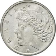 Monnaie, Brésil, 10 Centavos, 1976, TTB+, Stainless Steel, KM:578.1a - Brazil