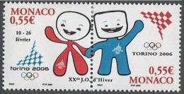 MONACO 2006 - DUO N° 2529 ET 2530 - NEUFS** - Ongebruikt