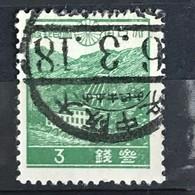◆◆JAPAN 1939 1st Showa Series 3 Sen USED XX012 - 1926-89 Imperatore Hirohito (Periodo Showa)