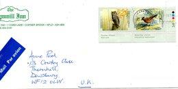 CANADA. N°1558-9 De 1998 Sur Enveloppe Ayant Circulé. Petit-duc/Roselin. - Owls