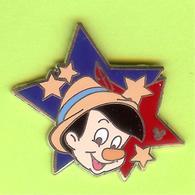 Pin's BD Disney Pinocchio Étoile  - 4E19 - Disney