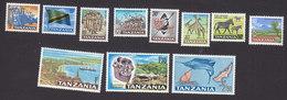 Tanzania, Scott #5-15, Mint Hinged, Industry Of Tanzania, Issued 1965 - Tanzanie (1964-...)