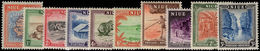Niue 1950 Set Lightly Mounted Mint. - Niue