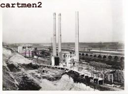 GRANDE PHOTO : LANAYE CIMENTERIE USINE CANAL ALBERT CHANTIER TRAVAUX PUBLIC CONSTRUCTION GENIE CIVIL BELGIQUE - België