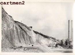 GRANDE PHOTO : LANAYE HACCOURT-VROENHOVEN MEUSE HEER CANAL ALBERT LIEGE CHANTIER CONSTRUCTION BELGIQUE - België
