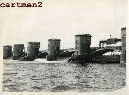 BARRAGE DE MONSIN LIEGE CANAL ALBERT LIEGE CHANTIER CONSTRUCTION BELGIQUE - België