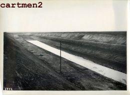 GRANDE PHOTO : LANAYE MONSIN HACCOURT-VROENHOVEN MEUSE HEER CANAL ALBERT LIEGE CHANTIER CONSTRUCTION BELGIQUE - België