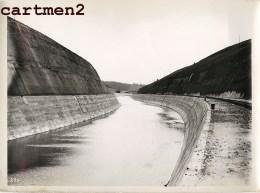 GRANDE PHOTO LANAYE CARME MONSIN HACCOURT-VROENHOVEN MEUSE HEER CANAL ALBERT LIEGE CHANTIER CONSTRUCTION BELGIQUE USINE - België