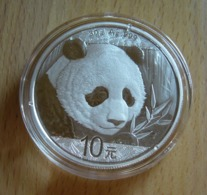 China, Panda 1 Oz 2018 Silver 999 Pure - 1 Oncia Argento Puro Bullion Cina - Cina
