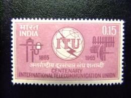 INDIA INDE 1965 ITU Yvert 187 ** MNH - Ongebruikt