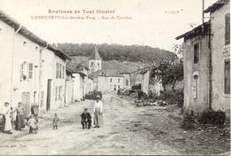 54 Environs De Toul Illustré - LANEUVEVILLE-DERRIÈRE-FOUG (127 Hab. !) - Rue De Trondes - Animée - France