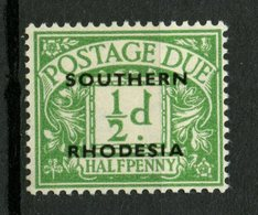 Southern Rhodesia 19511/2p Postage Due Issue #J1  MH - Southern Rhodesia (...-1964)