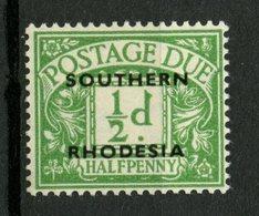 Southern Rhodesia 19511/2p Postage Due Issue #J1  MH - Rhodésie Du Sud (...-1964)