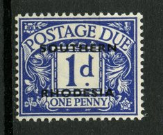 Southern Rhodesia 1951 1p Postage Due Issue #J2 MH - Southern Rhodesia (...-1964)