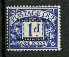 Southern Rhodesia 1951 1p Postage Due Issue #J2 MH - Rhodésie Du Sud (...-1964)