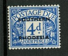 Southern Rhodesia 19514p Postage Due Issue #J5 MH - Rhodésie Du Sud (...-1964)