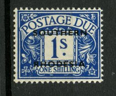Southern Rhodesia 1951 1sh Postage Due Issue #J6 MH - Southern Rhodesia (...-1964)