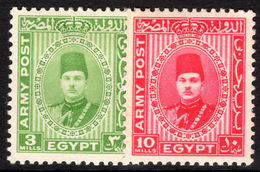 Egypt 1939 British Forces Lightly Mounted Mint. - Egypt