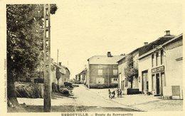 54 ERROUVILLE - Route De Serrouville - Animée : Café L'HOTE - France