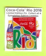Pin's Coca-Cola JO Jeux Olympiques Rio 2016 - 9S12 - Coca-Cola