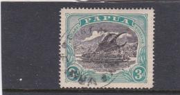 Papua SG 98 1916-31 Lakatoi 3d Black And Bright Blue Green Used - Papua New Guinea