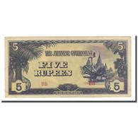 Billet, Birmanie, 5 Rupees, Undated (1942-44), KM:15b, TTB - Myanmar