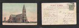 S.Africa,  Dutch Reformed Church, Ermelo Used 1/2d 1907,ERMELO > HEIDELBERG C.C. - South Africa