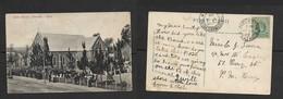 S.Africa,  Dutch Church, Newcastle Natal Used 1/2d 1909, NEWCASTLE > PIETERMARITZBURG. - Afrique Du Sud