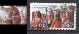 Canada, MNG, Tabac, Tobacco, Indiens D'Amérique, Amérindien, Amerindian, Costume, Culture, Coiffure, Boucle D'oreille - Tabac