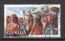 Canada, Tabac, Tobacco, Indiens D'Amérique, Amérindien, Amerindian, Costume, Culture, Coiffure, Boucle D'oreille - American Indians