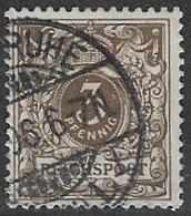 Germany SG46d 1889 Definitive 3pf Bistre-brown Good/fine Used [38/31254/9D] - Usados