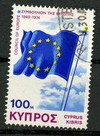 Cyprus 1974 100m Council Of Europe Issue #433 - Chypre (République)
