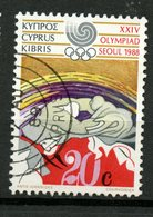 Cyprus 1988 20c Olympics Issue #708 - Chypre (République)