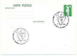 """FRANCE => CP Entier 2,10 Liberté => Oblit """"XXeme Anniversaire Mort Du Général De Gaulle - Colombey"""" Nov 1990 - De Gaulle (General)"""