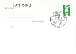 """FRANCE => CP Entier 2,10 Liberté => Oblit """"Général De Gaulle - 80 AMIENS"""" Nov 1990 - De Gaulle (General)"""