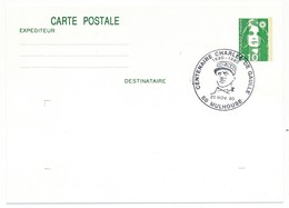 """FRANCE => CP Entier 2,10 Liberté => Oblit """"Centenaire Charles De Gaulle - 68 MULHOUSE""""  Nov 1990 - De Gaulle (General)"""