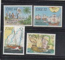 IRELAND 1992 EUROPA CEPT MNH Columbus Ireland-Maritime Heritage Set Mnh(837-8) - Ships