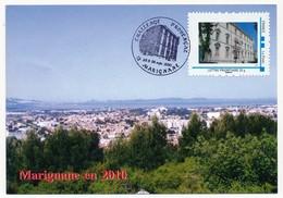 FRANCE - Carte Maximum - MARIGNANE (13) Challenge Provencal - Timbre Lettre Prioritaire Mairie Marignane - France
