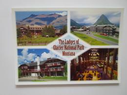 The Lodges Of Glacier National Park Montana. Lake McDonald. Molly Hamilton 739317491675 - Etats-Unis