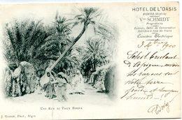 ALGERIE(BISKRA) HOTEL(PUBLICITE) RARE - Biskra
