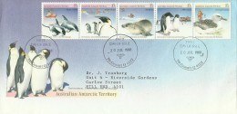 Australian Antarctic Territory 1988 Environment FDC - Australian Antarctic Territory (AAT)