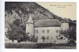 Cantal Auvergne CPA Montmaur Château Féodal Du XIIIe Siècle - France