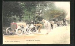 CPA En Panne Sur Le Circuit, Course Automobile - Sport Automobile