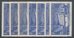 CD-387 :FRANCE: Lot Avec Timbres** N°430(5) + 2 N°430* Non Comptés - Frankreich