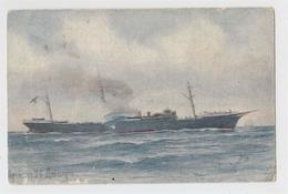 Russian Fleet. Cruiser The Dnieper. Artist Vsevolozhsky. Edition Of St. Eugene. Prokudin-Gorsky. - Guerra