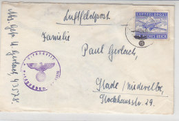 """Feldpost Von Panzerjäger-Abteilung SS-Division """"Wiking"""" 4.11.4? FP-Nr. 43578 / Vorne Haftstellen - Deutschland"""