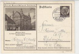 Hindenburg GS Motiv Offenbach Aus Wuppertal Barmen 25.10.34 - Deutschland