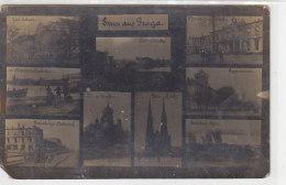Gruss Aus BRAGA ?? - Unten Links Ist Der Petersburger Bahnhof Abgebildet - 1916 Fotokarte - Pologne